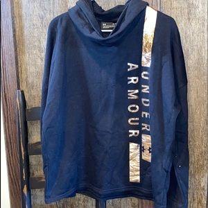 Women's UA cowl neck hoodie